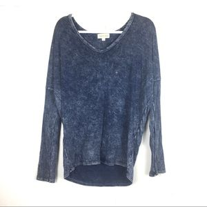 Anthropologie Cloth & Stone Tie Dye Top S T/n